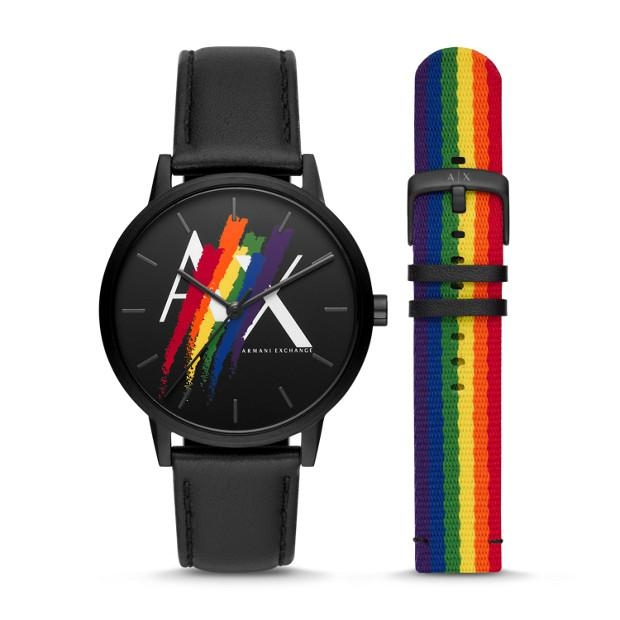 ARMANI EXCHANGE Mod. RAINBOW Special Pack + Extra Strap