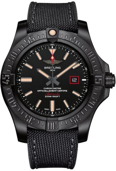 """Pánske hodinky Breitling """"AVENGER BLACKBIRD 44"""""""