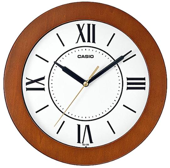 CASIO WALL CLOCK 26 x 26 x 4 cm