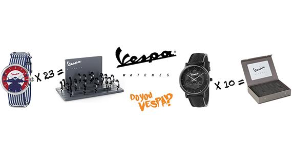 Με αγορά 23 ρολογιών Vespa έχετε ΔΩΡΕΑΝ ΣΤΑΝΤ ΒΙΤΡΙΝΑΣ db150f7ba39