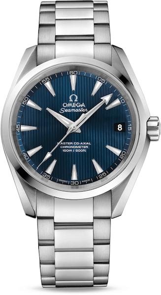 "Pánske hodinky Omega ""AQUA TERRA 150M MASTER CO‑AXIAL 38.5 MM"""