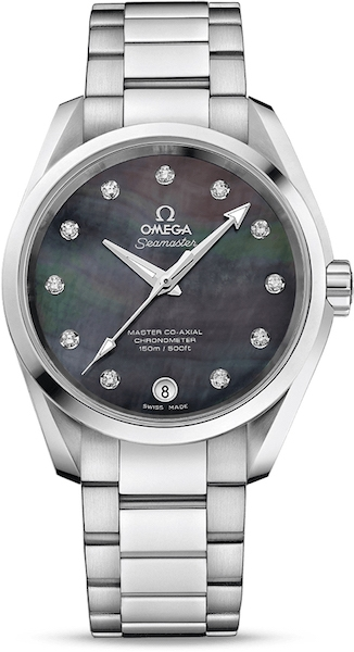 "Dámske hodinky Omega ""AQUA TERRA 150M MASTER CO‑AXIAL LADIES' 38.5 MM"""