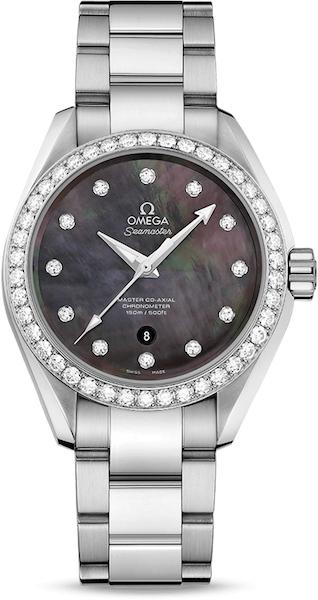 "Dámske hodinky Omega ""AQUA TERRA 150M MASTER CO‑AXIAL 34 MM"""