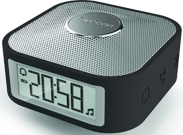 OREGON SCIENTIFIC Mod. OSCP100-BLA SMARTCLOCK, BLUETOOTH SPEAKER, BRAINWAVE SOUNDS, 8x8x4.5cm