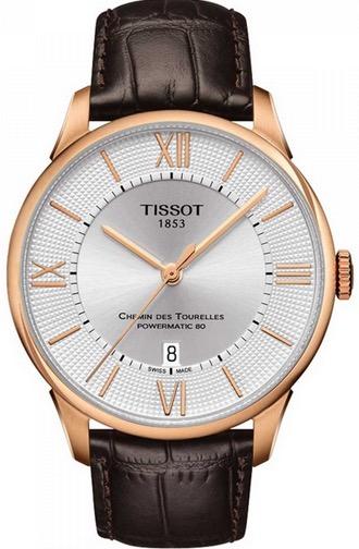 "Pánske hodinky Tissot ""CHEMIN DES TOURELLES POWERMATIC 80"""