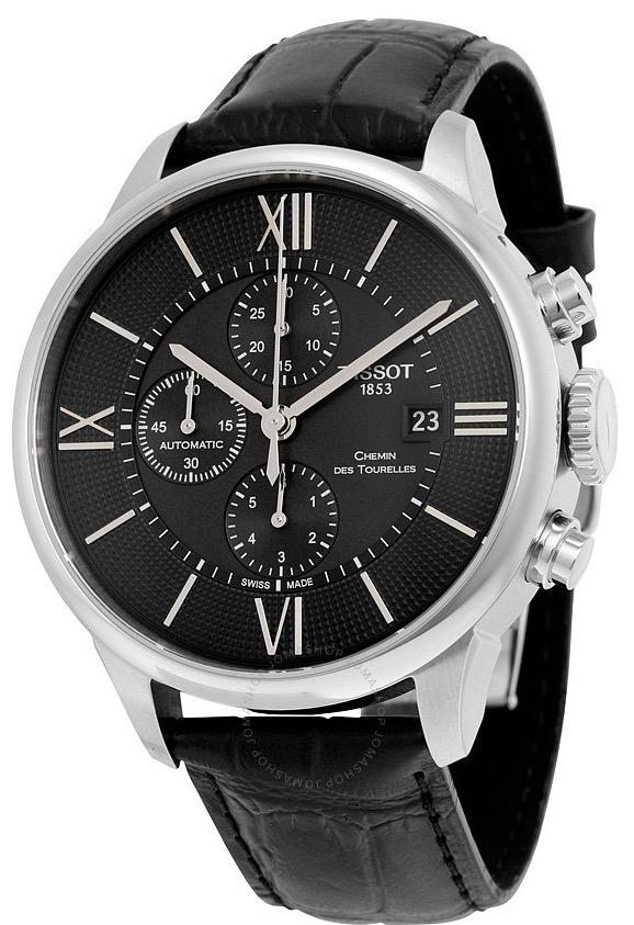 """Pánske hodinky Tissot """"CHEMIN DES TOURELLES AUTOMATIC CHRONOGRAPH"""""""