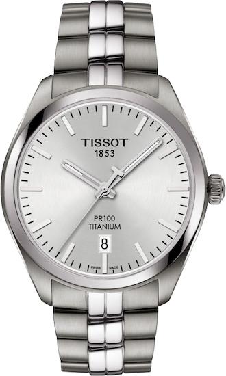 "Pánske hodinky Tissot ""PR 100 TITANIUM QUARTZ"""